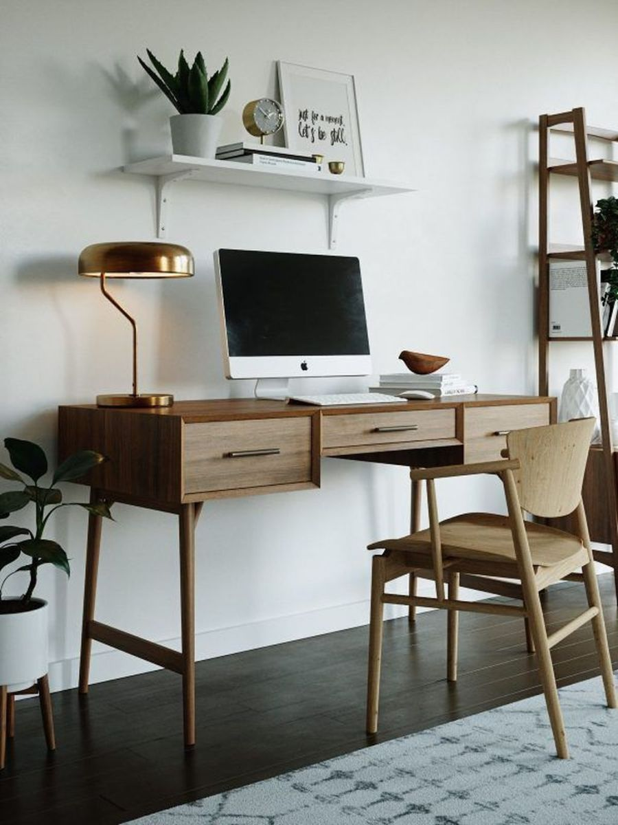 Admirable Modern Home Office Design Ideas That You Like 30