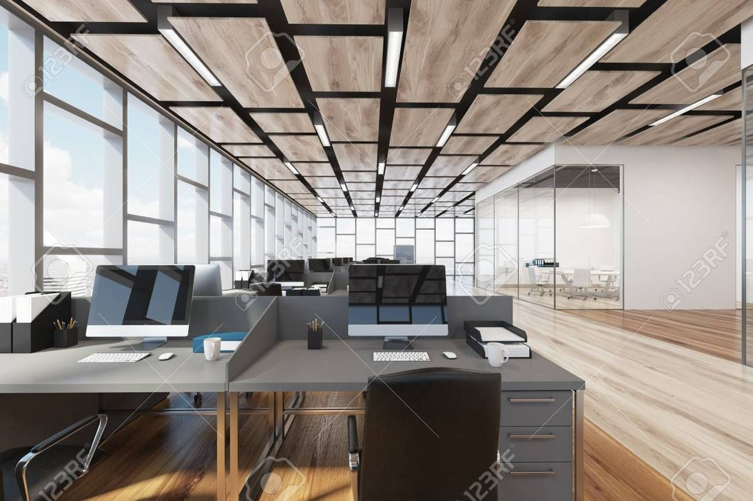 Amazing Open Ceiling Office Design Ideas 16