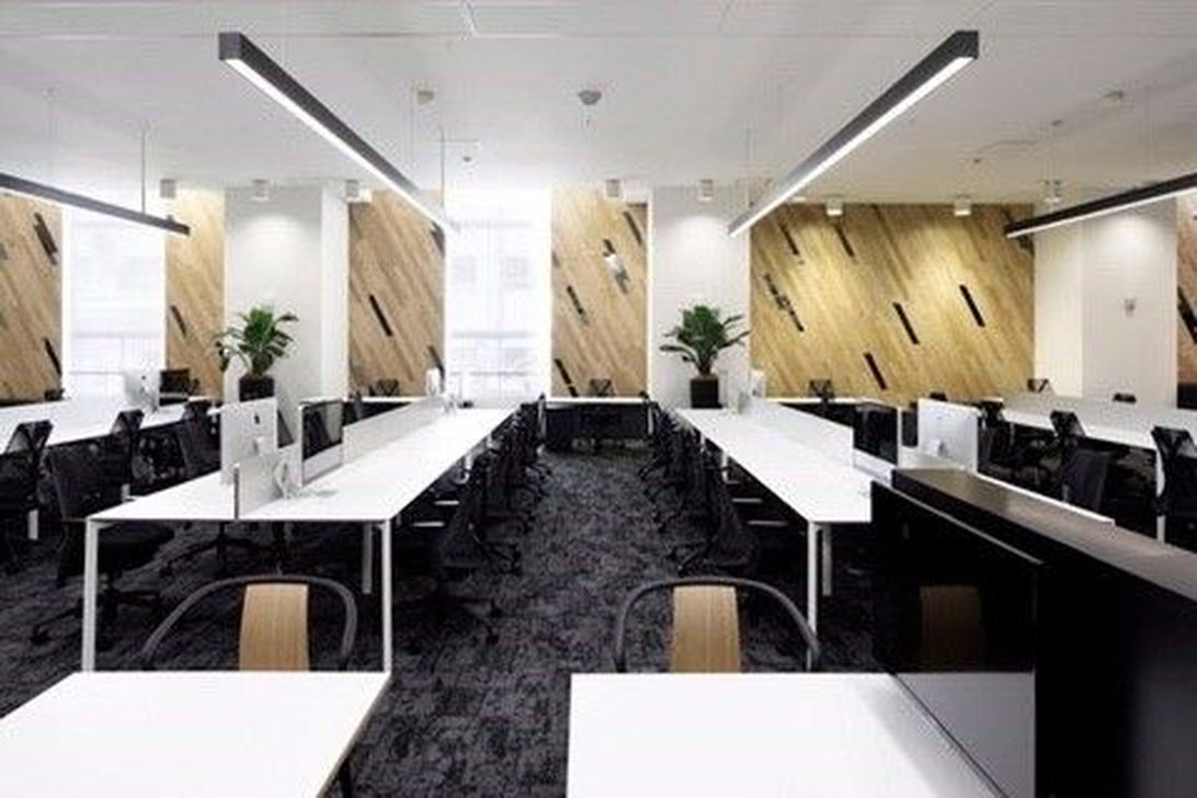 Amazing Open Ceiling Office Design Ideas 27