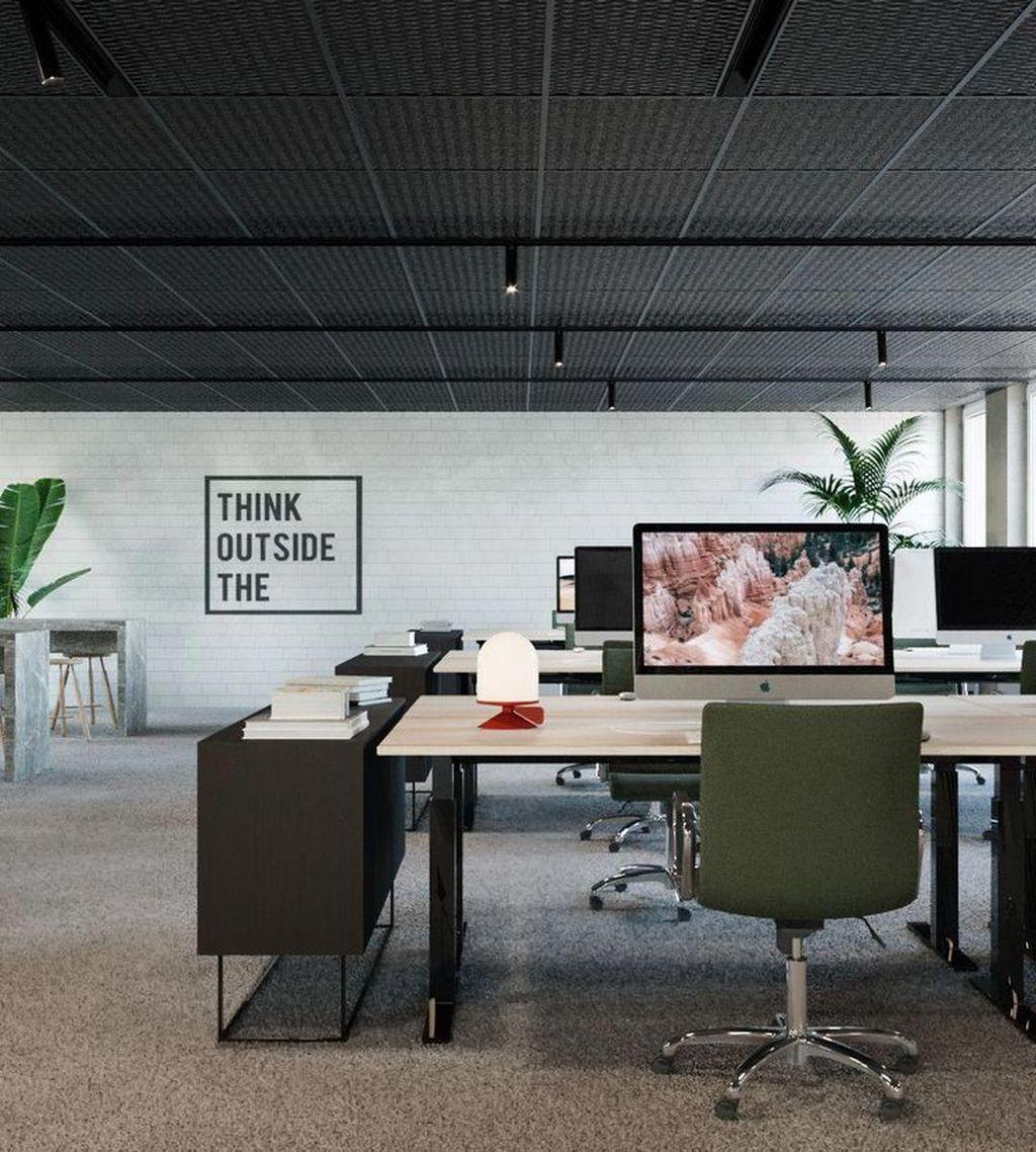 Amazing Open Ceiling Office Design Ideas 28