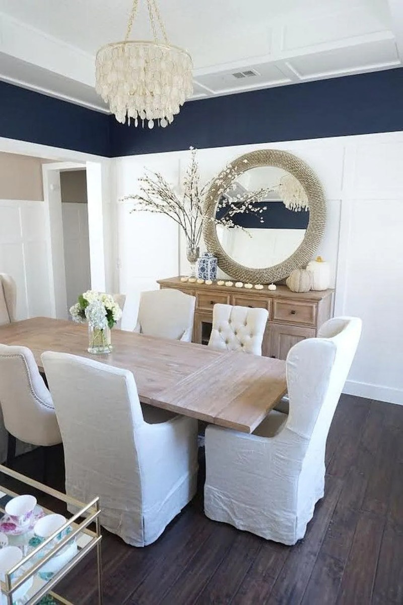 Amazing Wall Mirror Design Ideas For Dining Room Decor 08