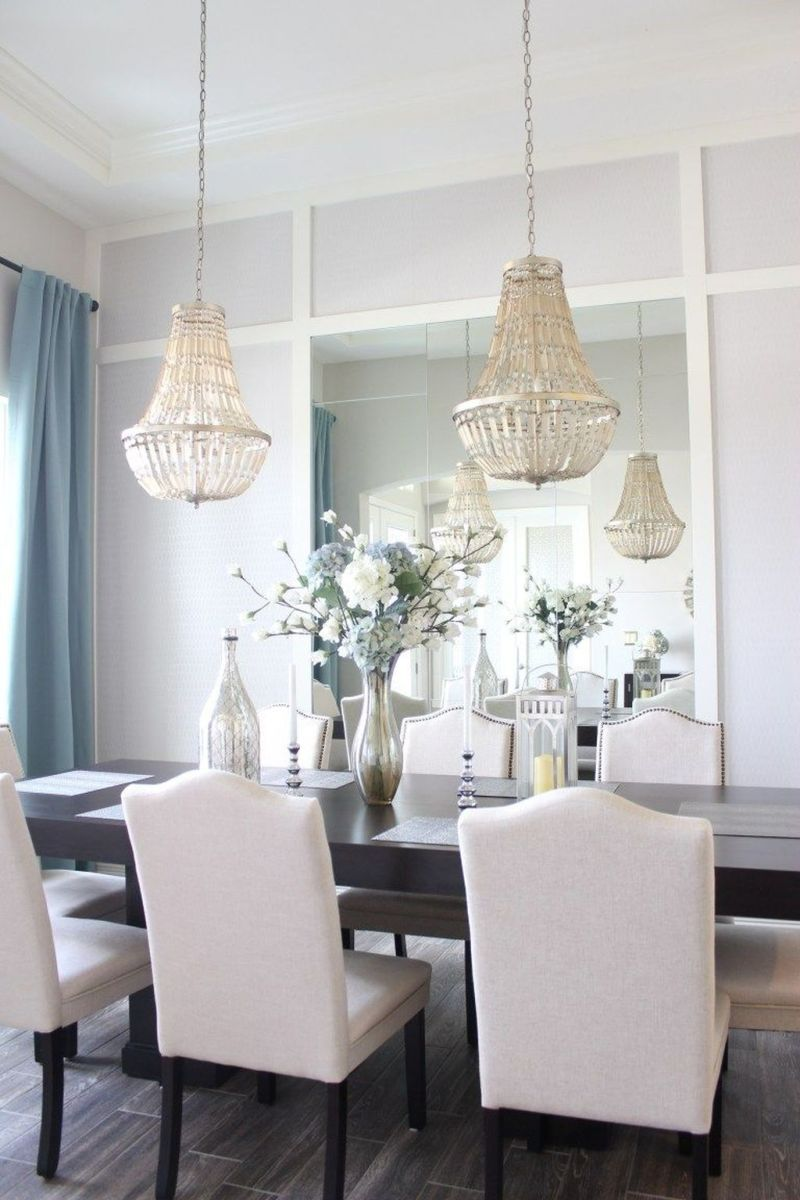Amazing Wall Mirror Design Ideas For Dining Room Decor 12