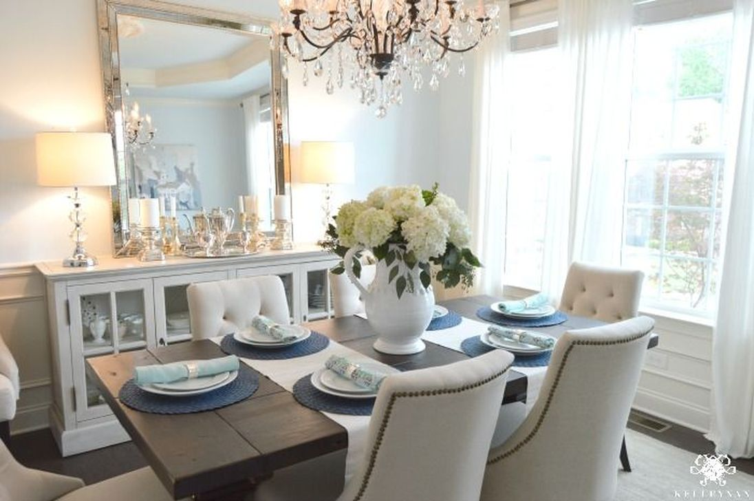 Amazing Wall Mirror Design Ideas For Dining Room Decor 14