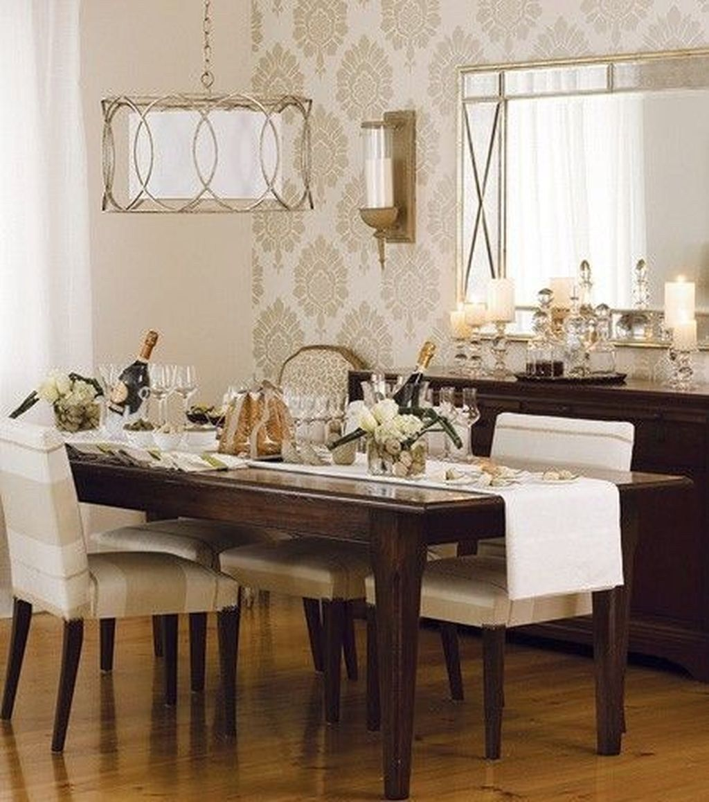 Amazing Wall Mirror Design Ideas For Dining Room Decor 16