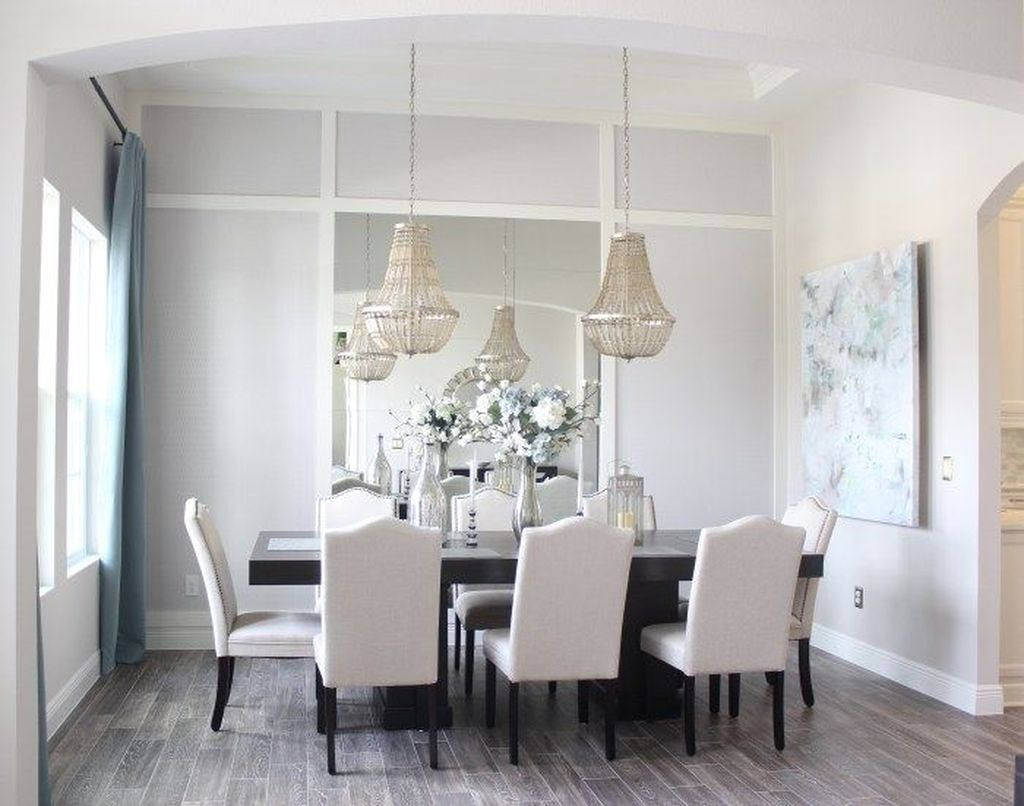 Amazing Wall Mirror Design Ideas For Dining Room Decor 25
