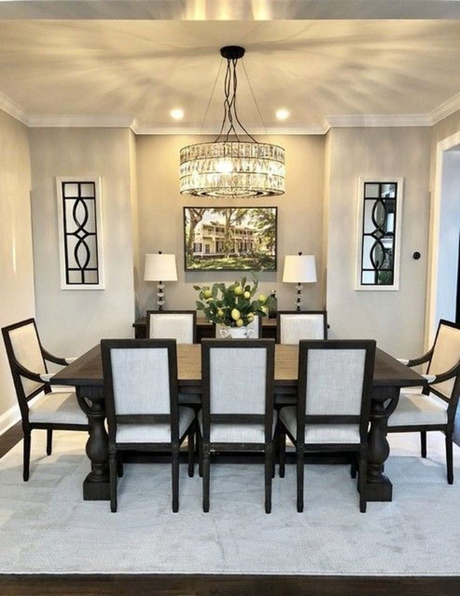 Amazing Wall Mirror Design Ideas For Dining Room Decor 27