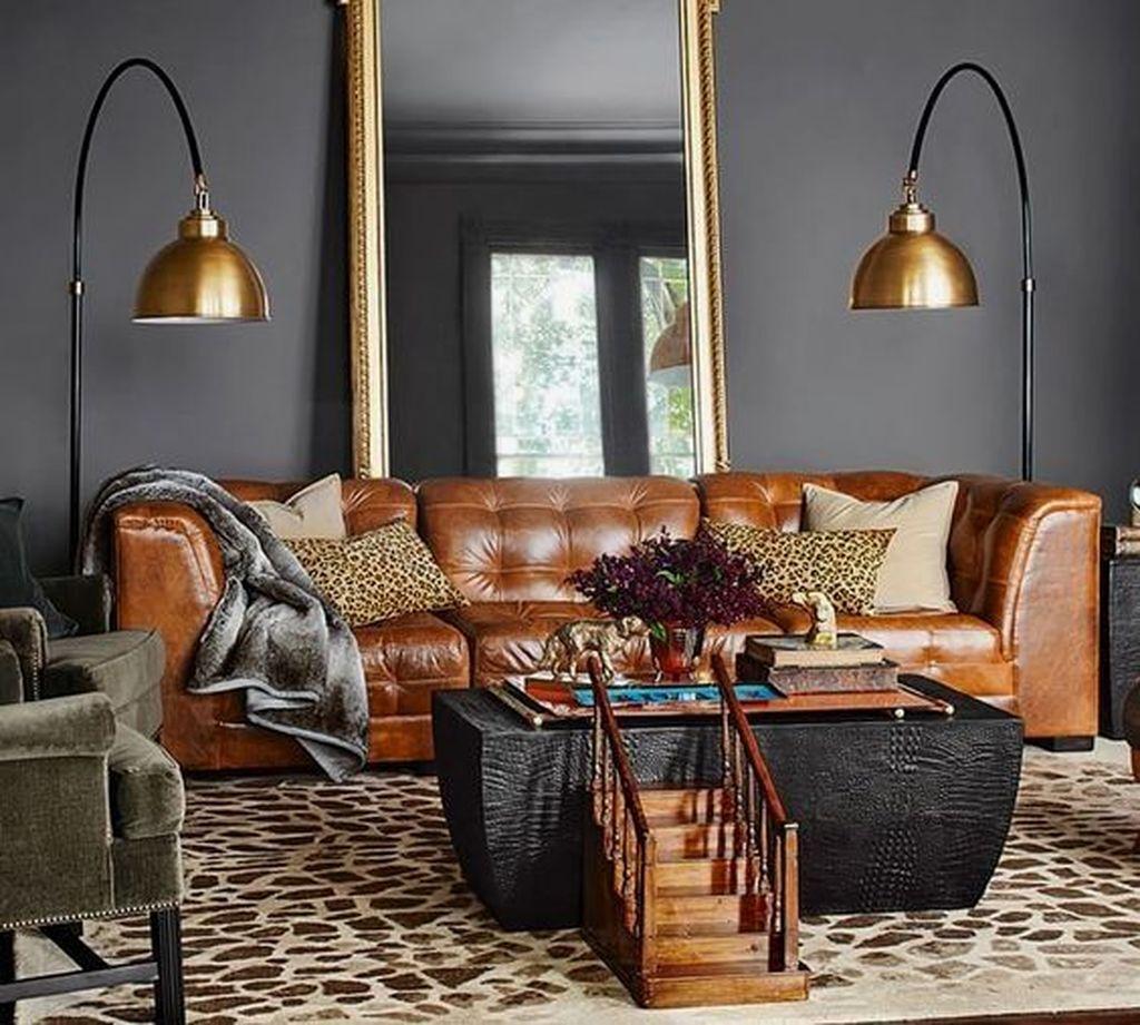 Awesome Leather Sofa Design Ideas 08