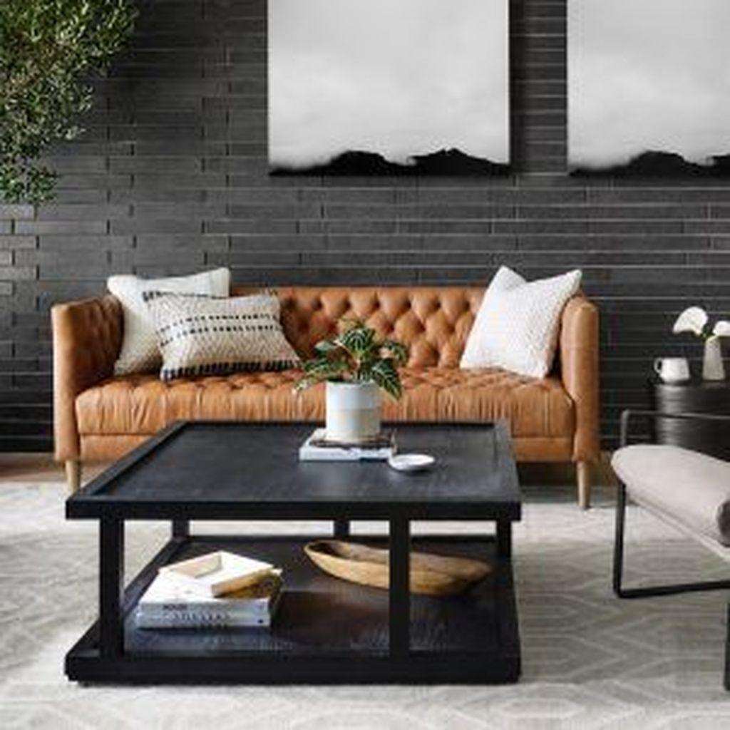 Awesome Leather Sofa Design Ideas 28