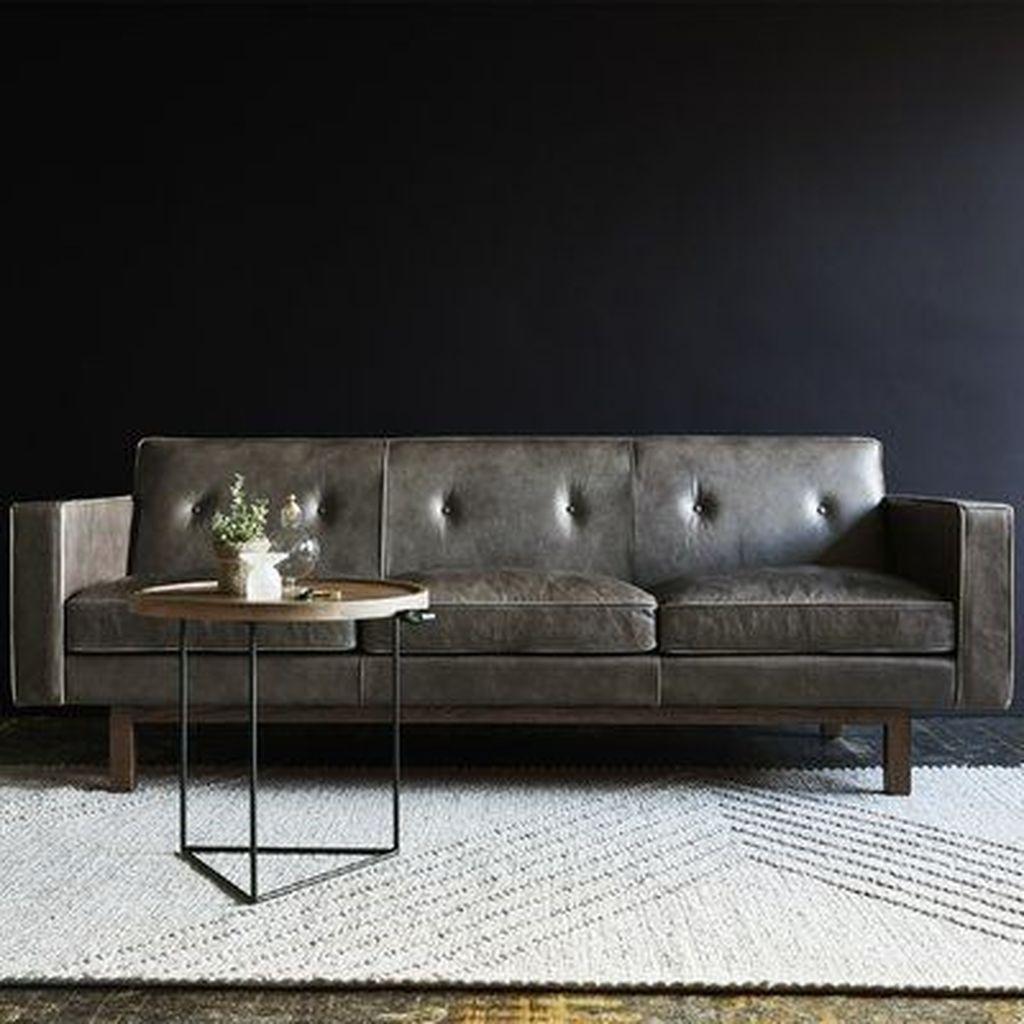 Awesome Leather Sofa Design Ideas 29