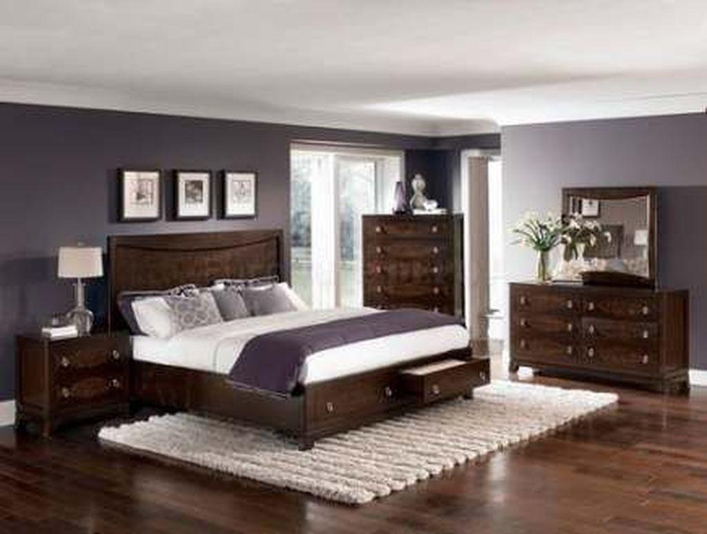 Beautiful Dark Wood Furniture Design Ideas For Your Bedroom 03