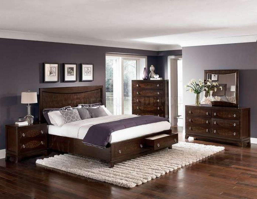 Beautiful Dark Wood Furniture Design Ideas For Your Bedroom 13