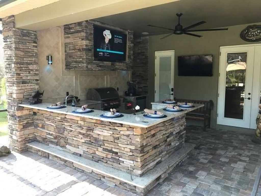 Fabulous Outdoor Kitchen Design Ideas You Must Have 09