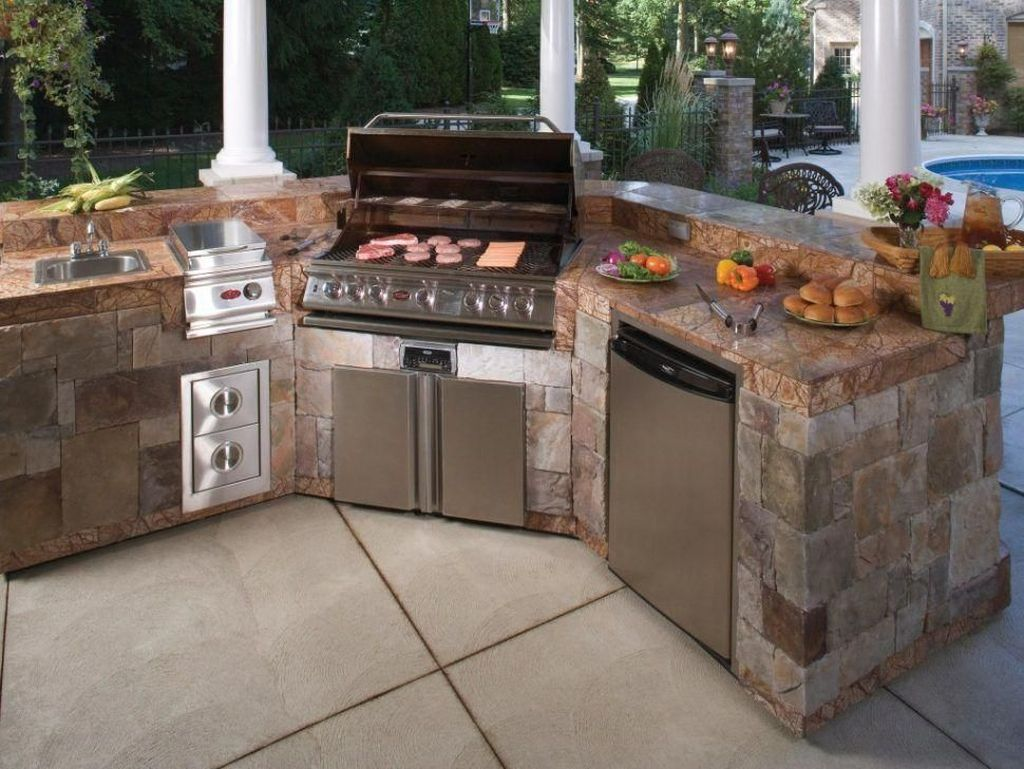 Fabulous Outdoor Kitchen Design Ideas You Must Have 15