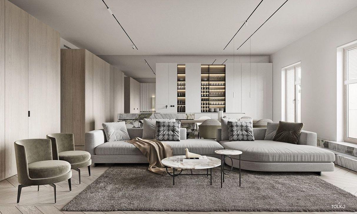 Gorgeous Modern Sofa Designs That You Definitely Like 27