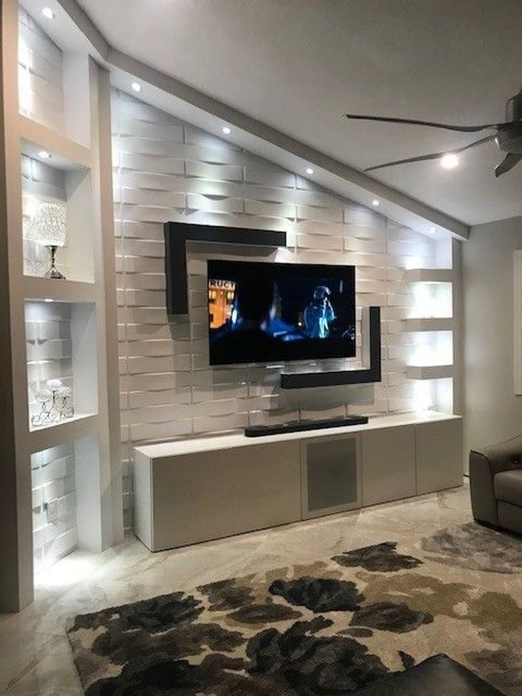 Inspiring Drywall Design Ideas To Beautify Your Interior 23