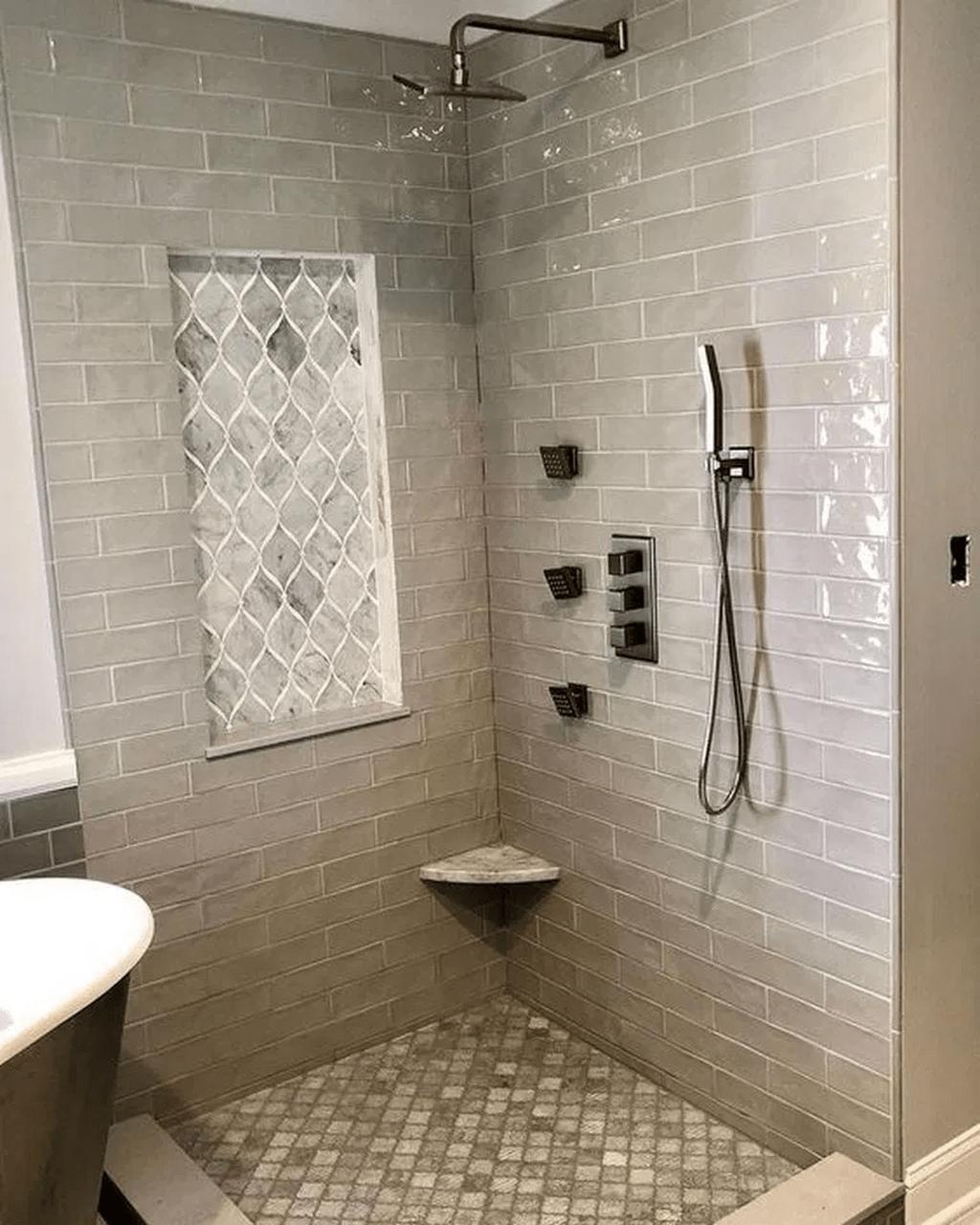 Lovely Bathroom Ceramic Tile Ideas You Should Copy 05
