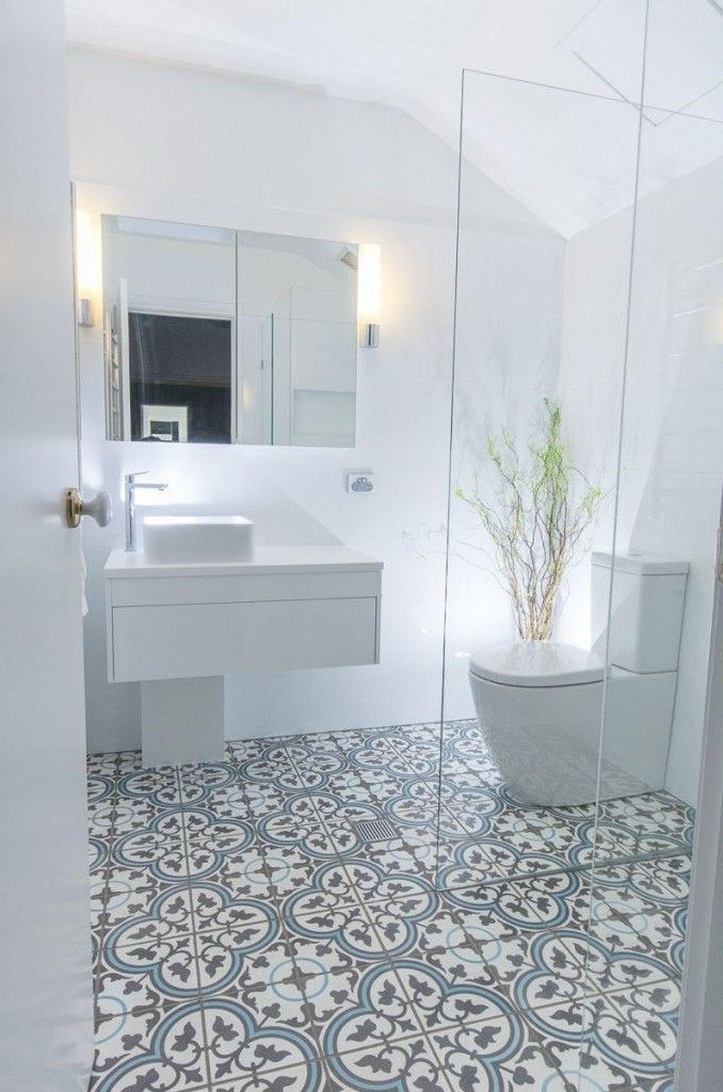 Lovely Bathroom Ceramic Tile Ideas You Should Copy 26
