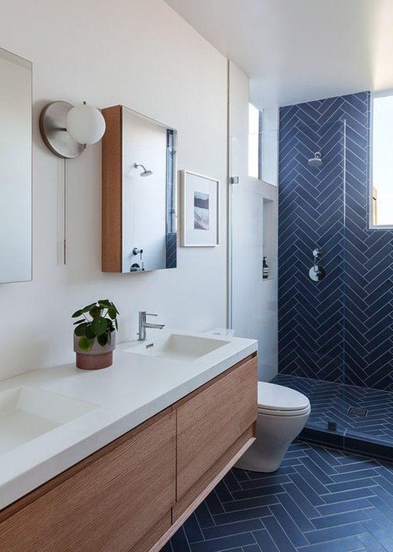 Lovely Bathroom Ceramic Tile Ideas You Should Copy 33
