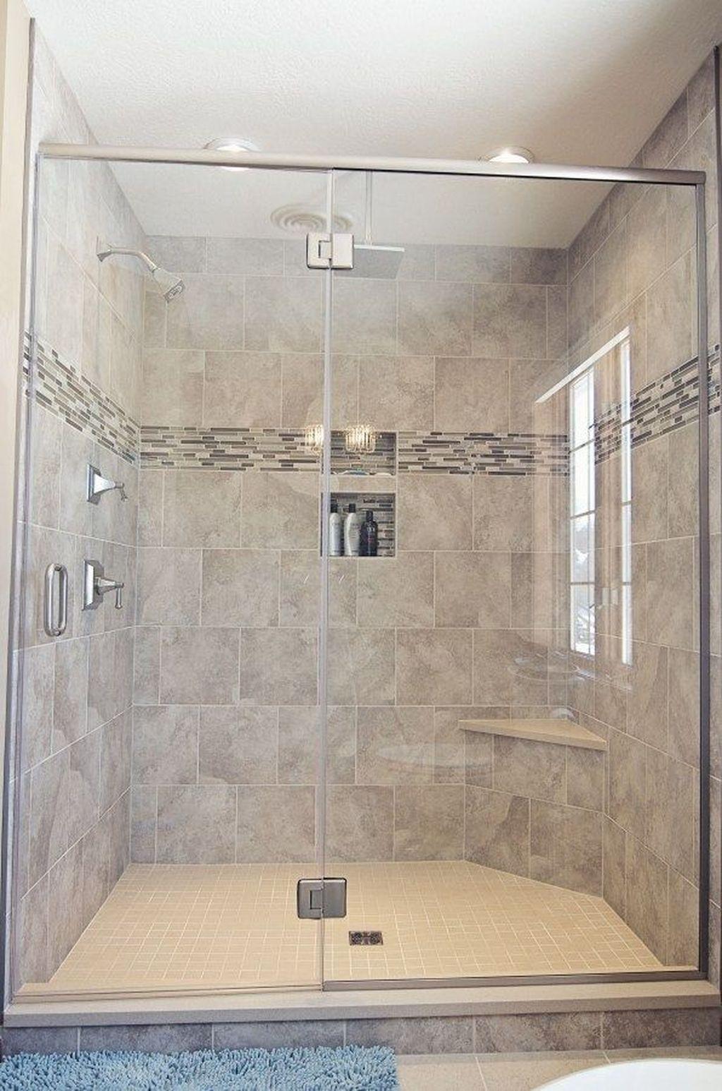 Lovely Bathroom Ceramic Tile Ideas You Should Copy 34