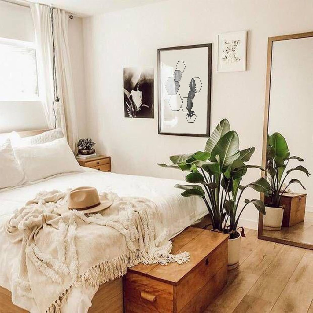 Lovely Bedroom Decor With Plant Ideas 17