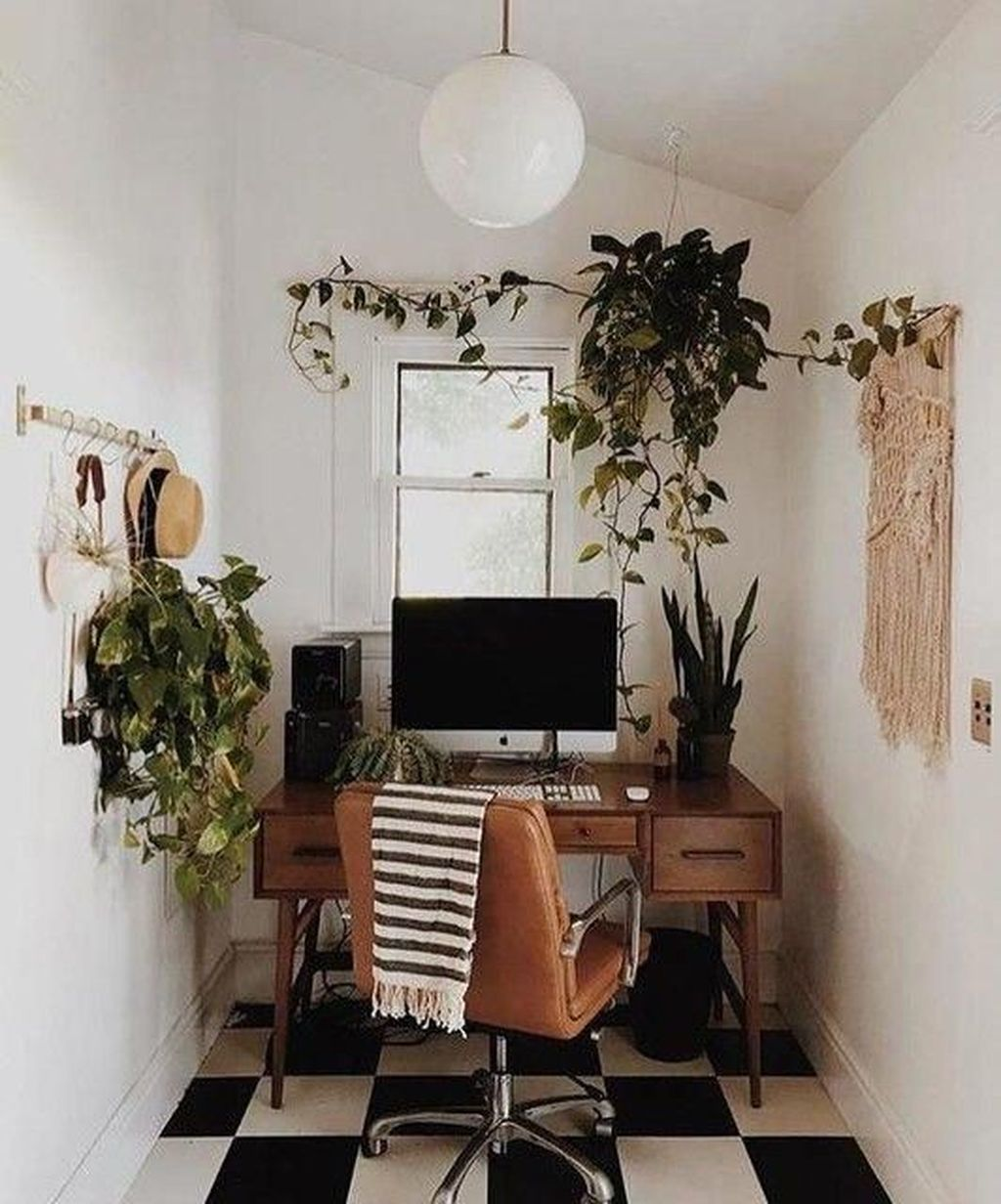 Nice Small Home Office Design Ideas 05