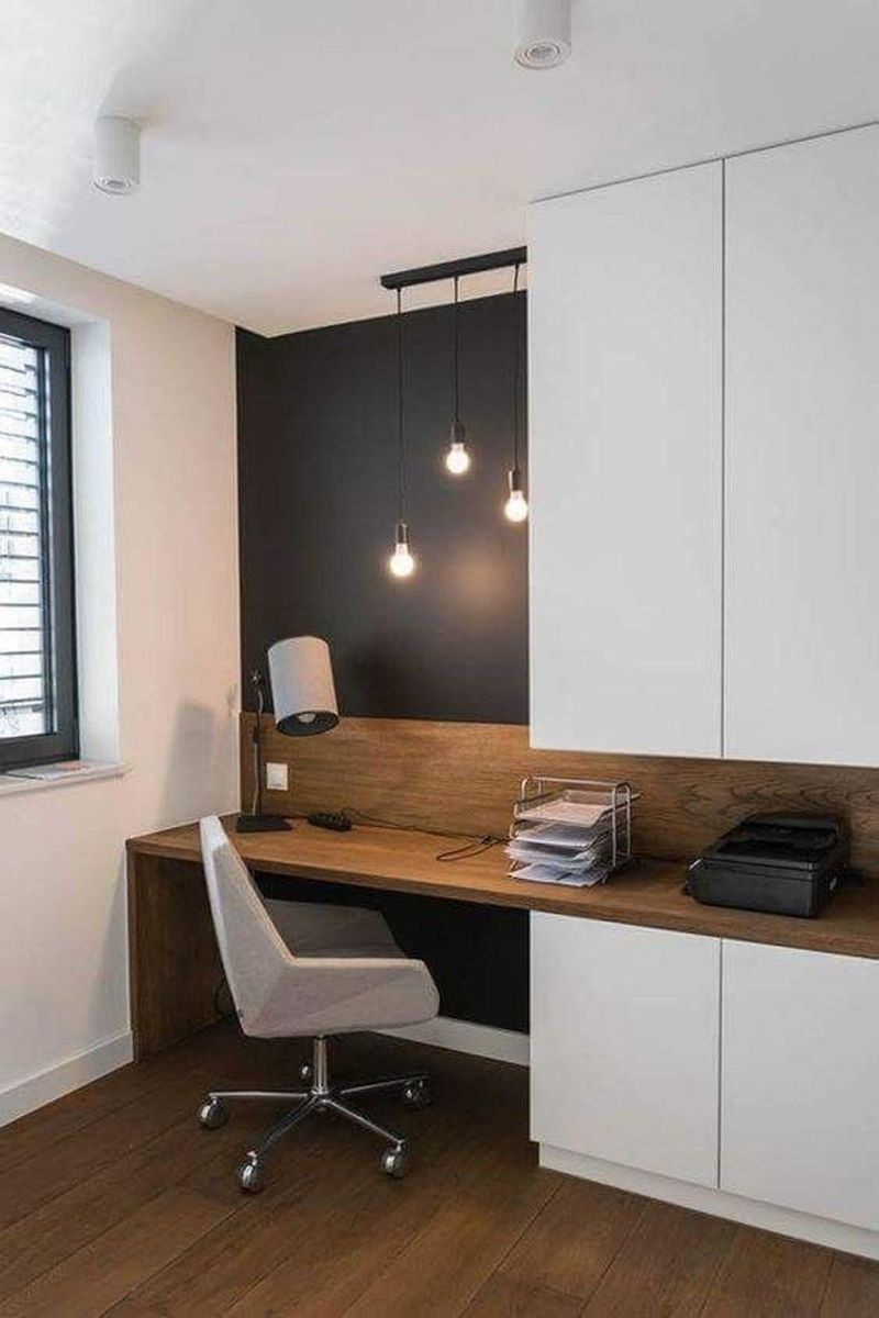Nice Small Home Office Design Ideas 09