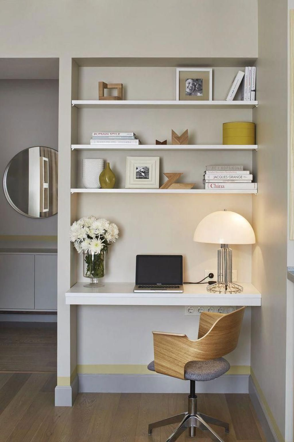 Nice Small Home Office Design Ideas 10