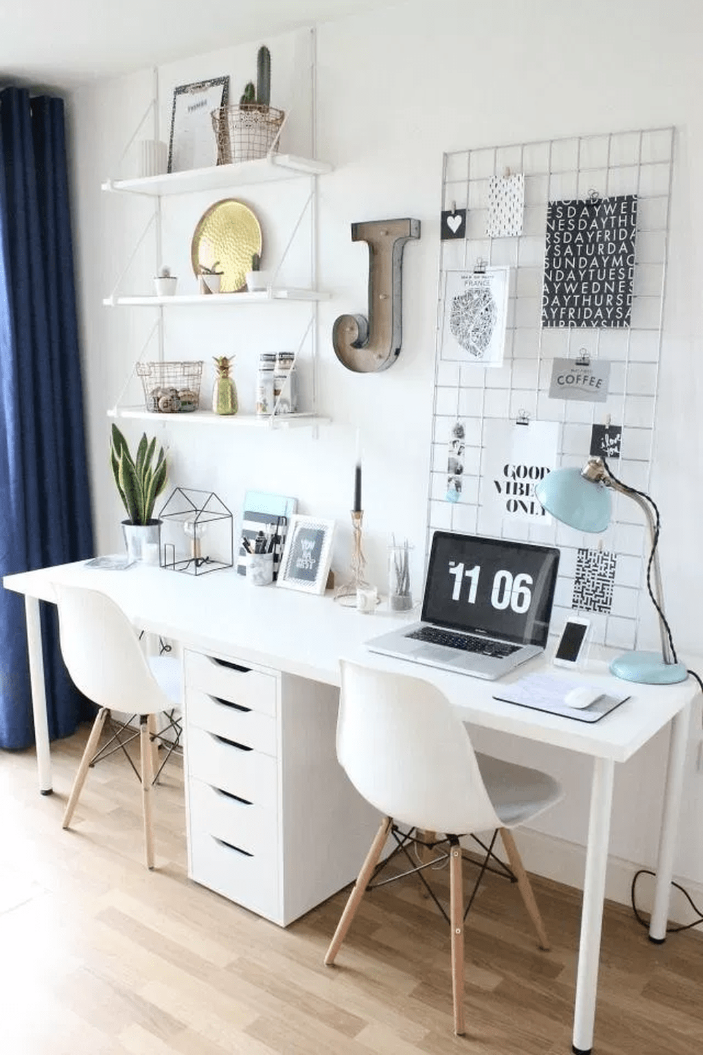 Nice Small Home Office Design Ideas 14