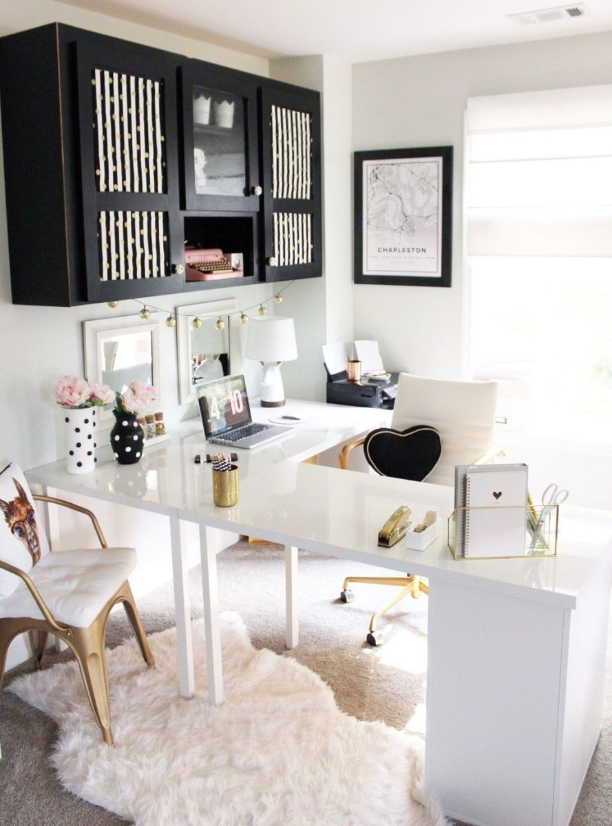 Nice Small Home Office Design Ideas 16