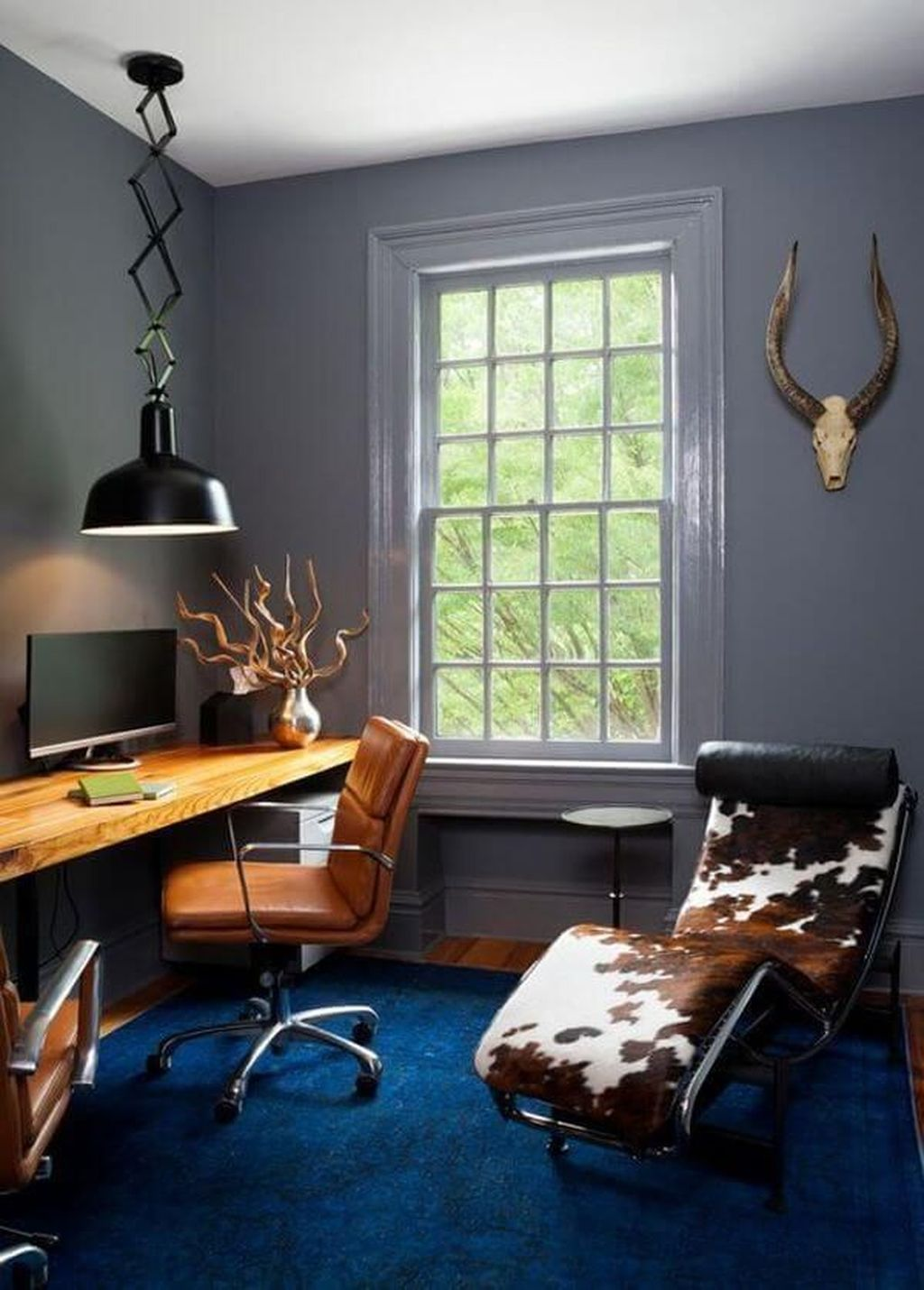 Nice Small Home Office Design Ideas 25
