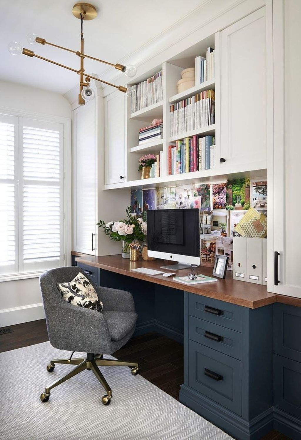 Nice Small Home Office Design Ideas 27
