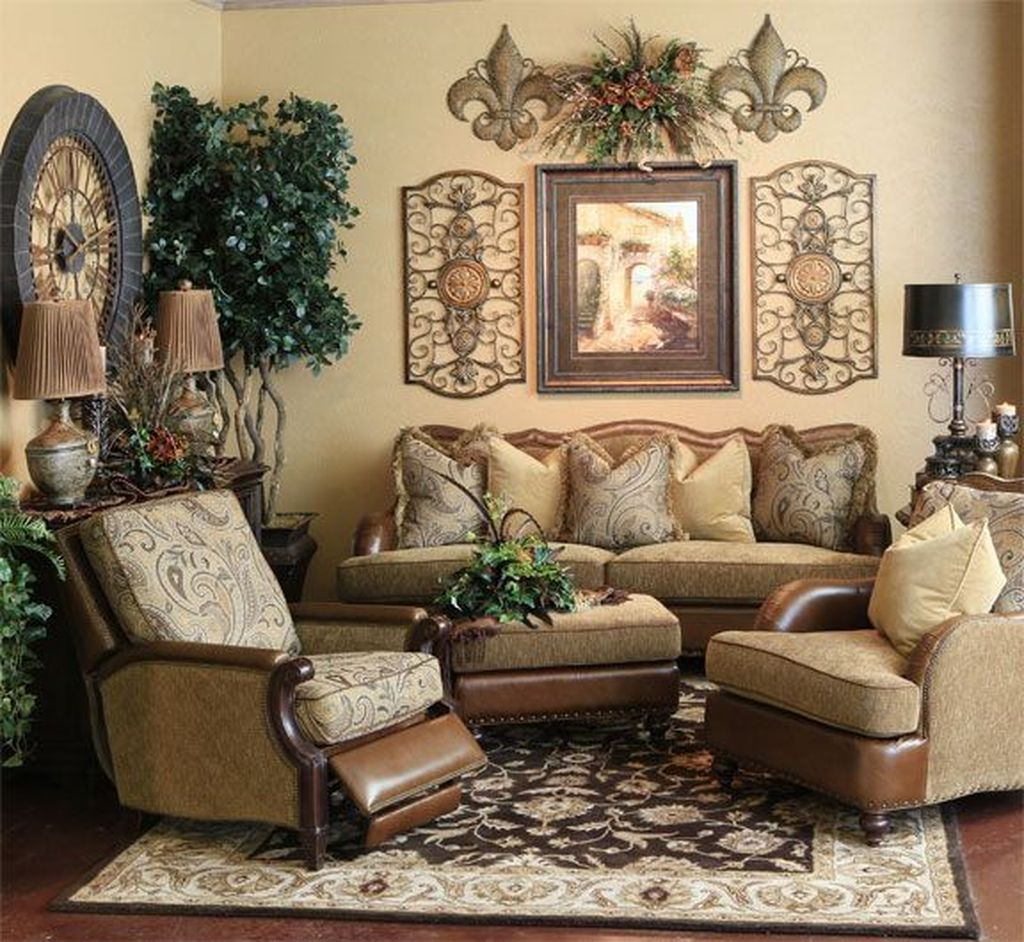 Nice Tuscan Living Room Decor Ideas You Will Love 15