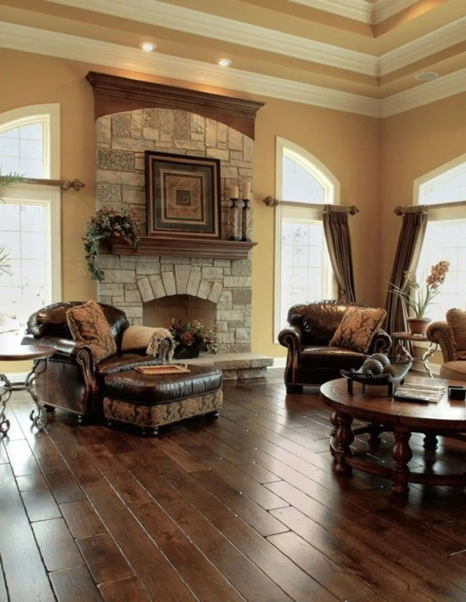 Nice Tuscan Living Room Decor Ideas You Will Love 22