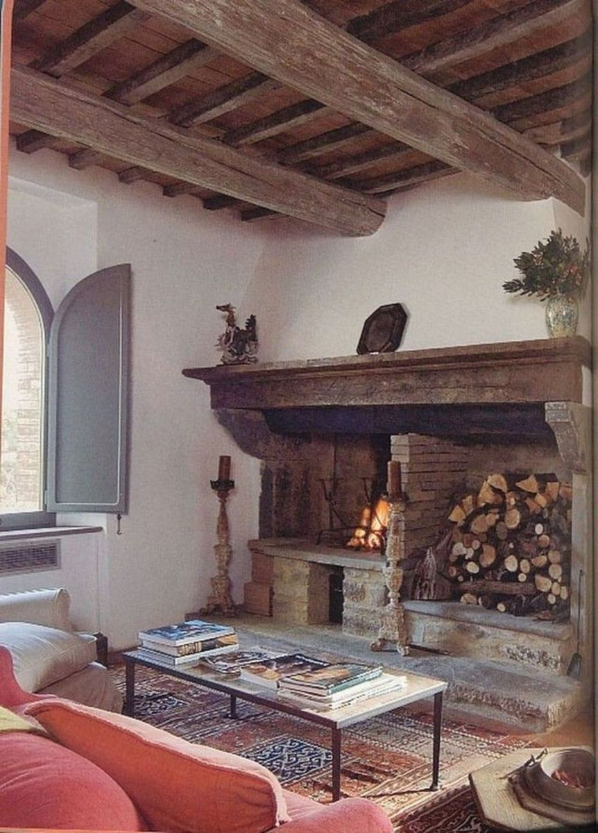 Nice Tuscan Living Room Decor Ideas You Will Love 23
