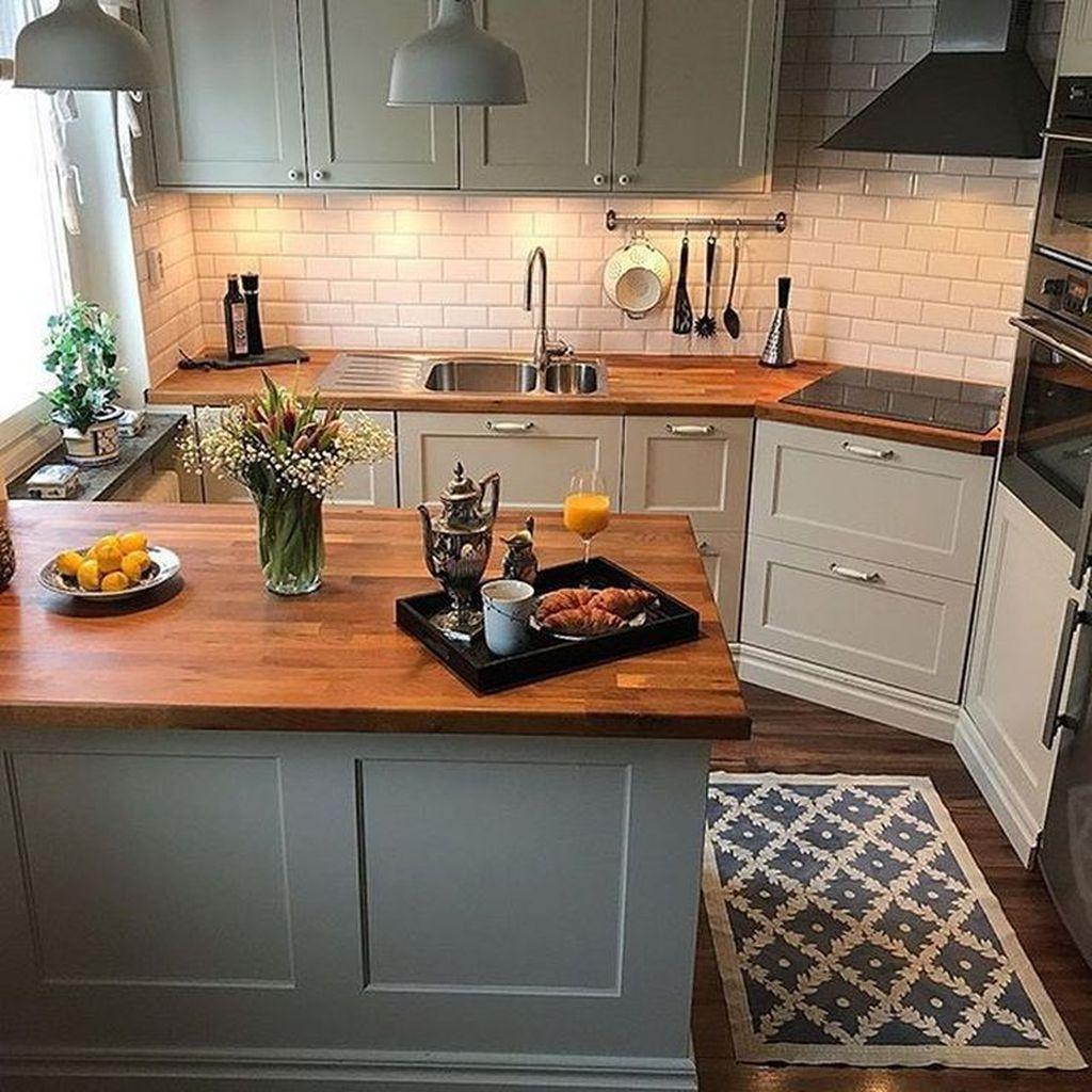 Popular Apartment Kitchen Design Ideas You Should Copy 10