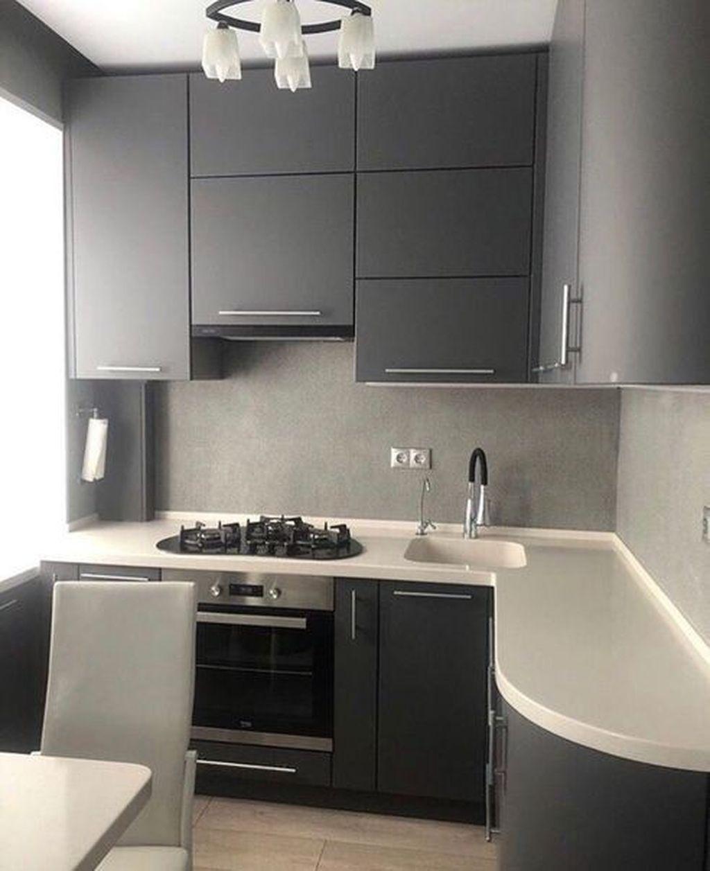 Popular Apartment Kitchen Design Ideas You Should Copy 16