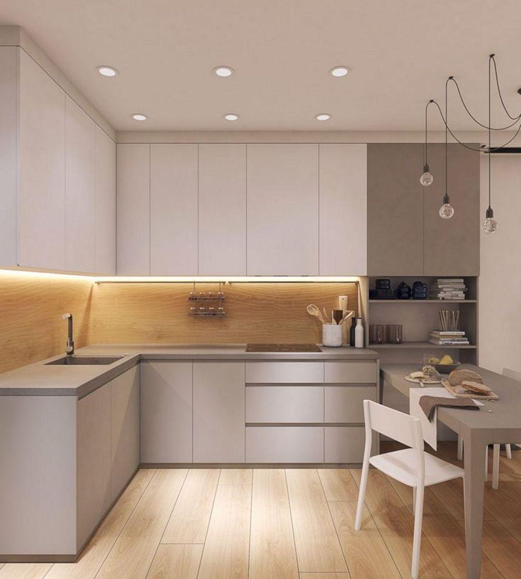 Popular Apartment Kitchen Design Ideas You Should Copy 18