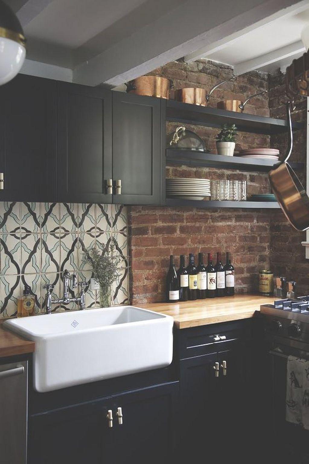 Popular Apartment Kitchen Design Ideas You Should Copy 31