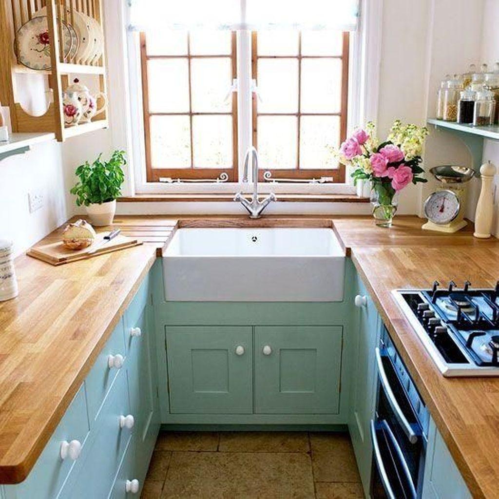 Popular U Shaped Kitchen Design Ideas 01