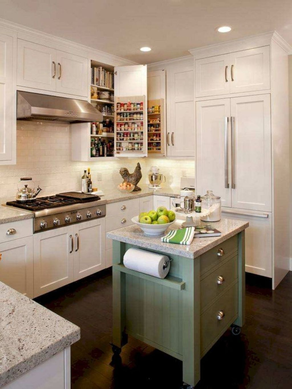 Popular U Shaped Kitchen Design Ideas 02