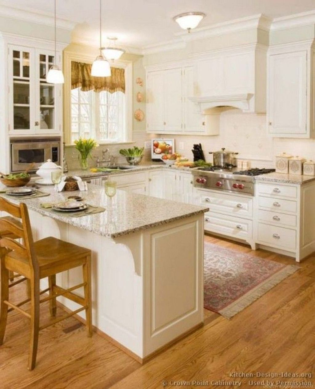 Popular U Shaped Kitchen Design Ideas 06