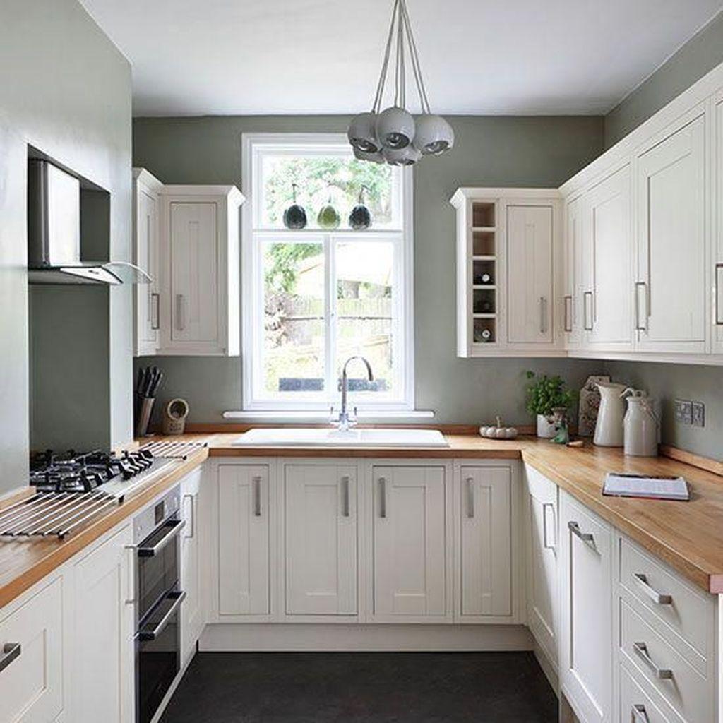 Popular U Shaped Kitchen Design Ideas 13