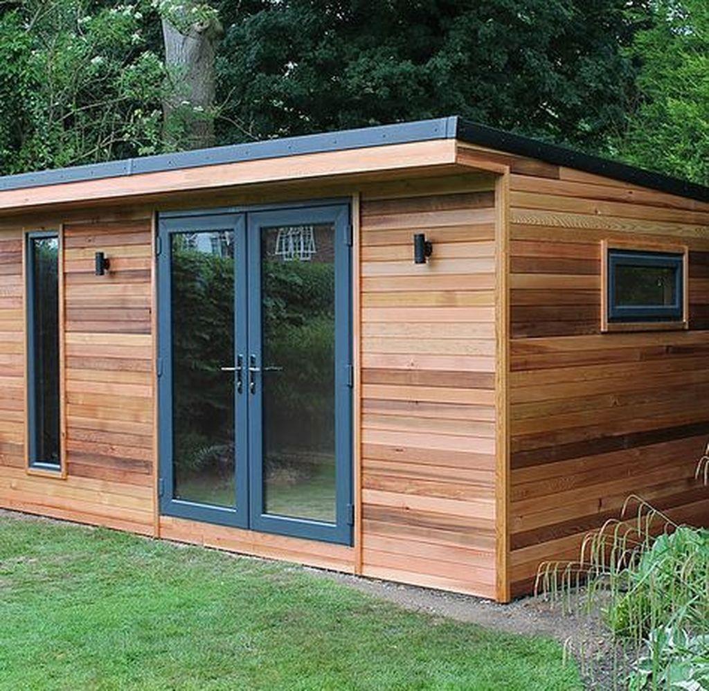 Stunning Garden Studio Design Ideas That You Definitely Like 15