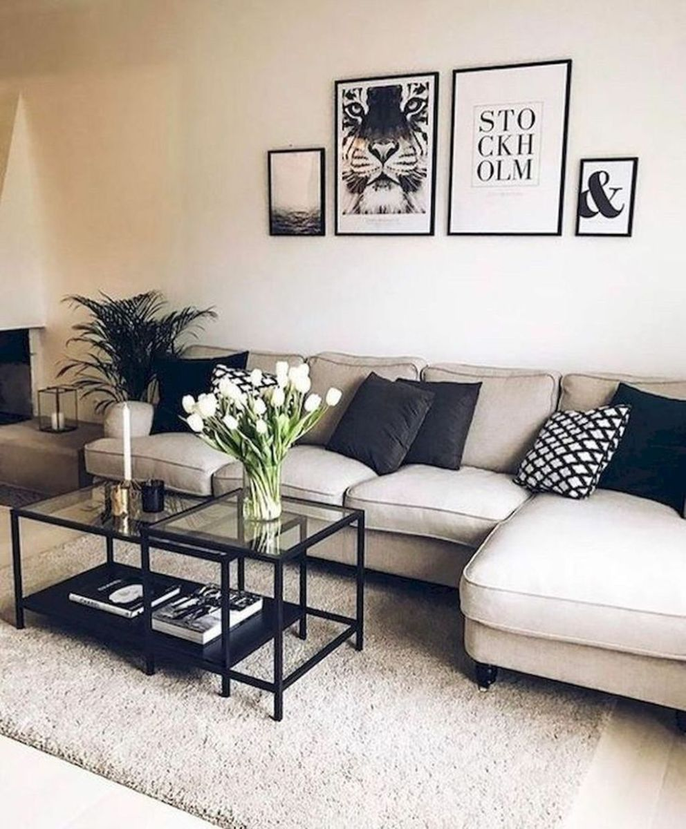The Best Apartment Living Room Decor Ideas On A Budget 15