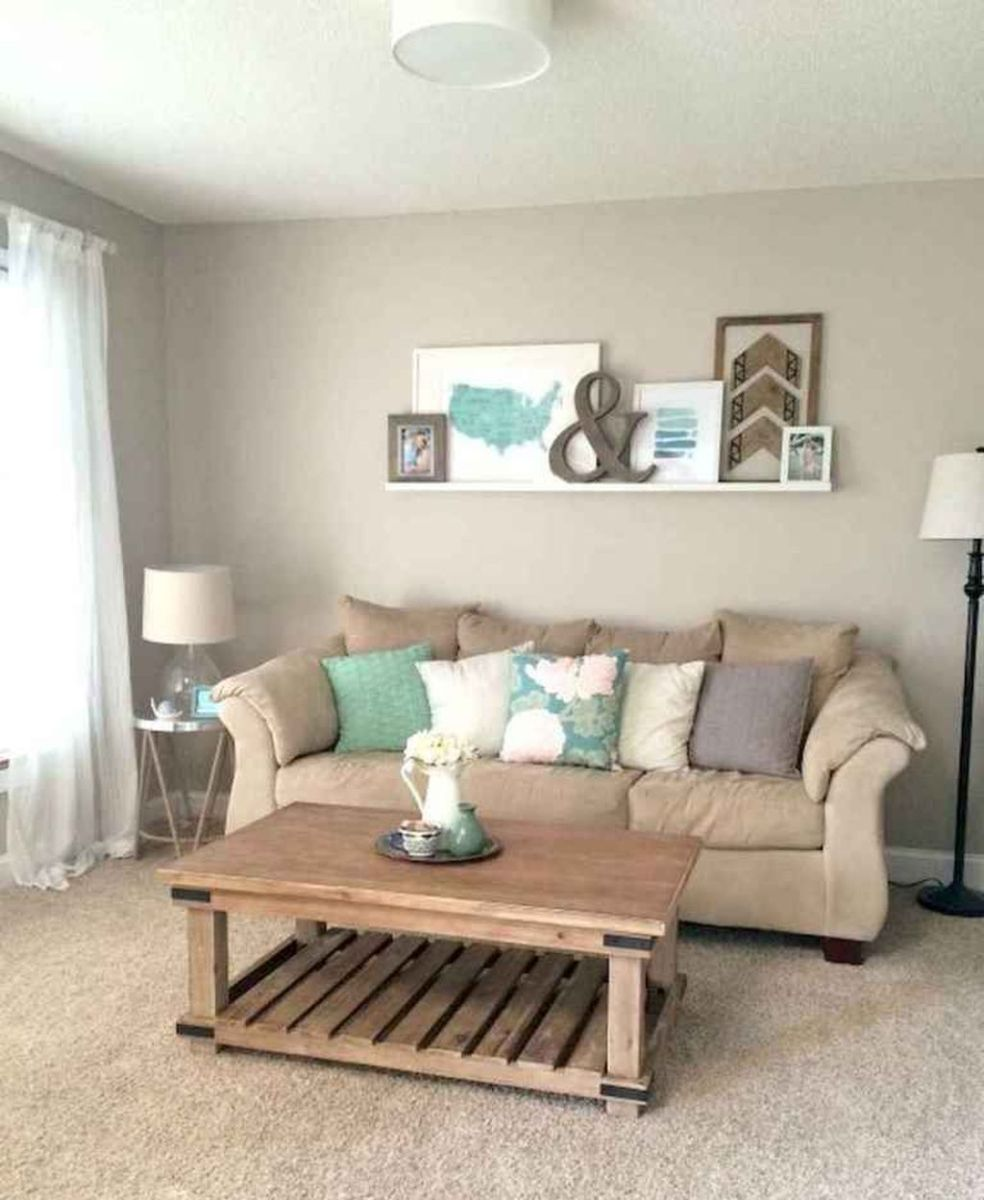The Best Apartment Living Room Decor Ideas On A Budget 24