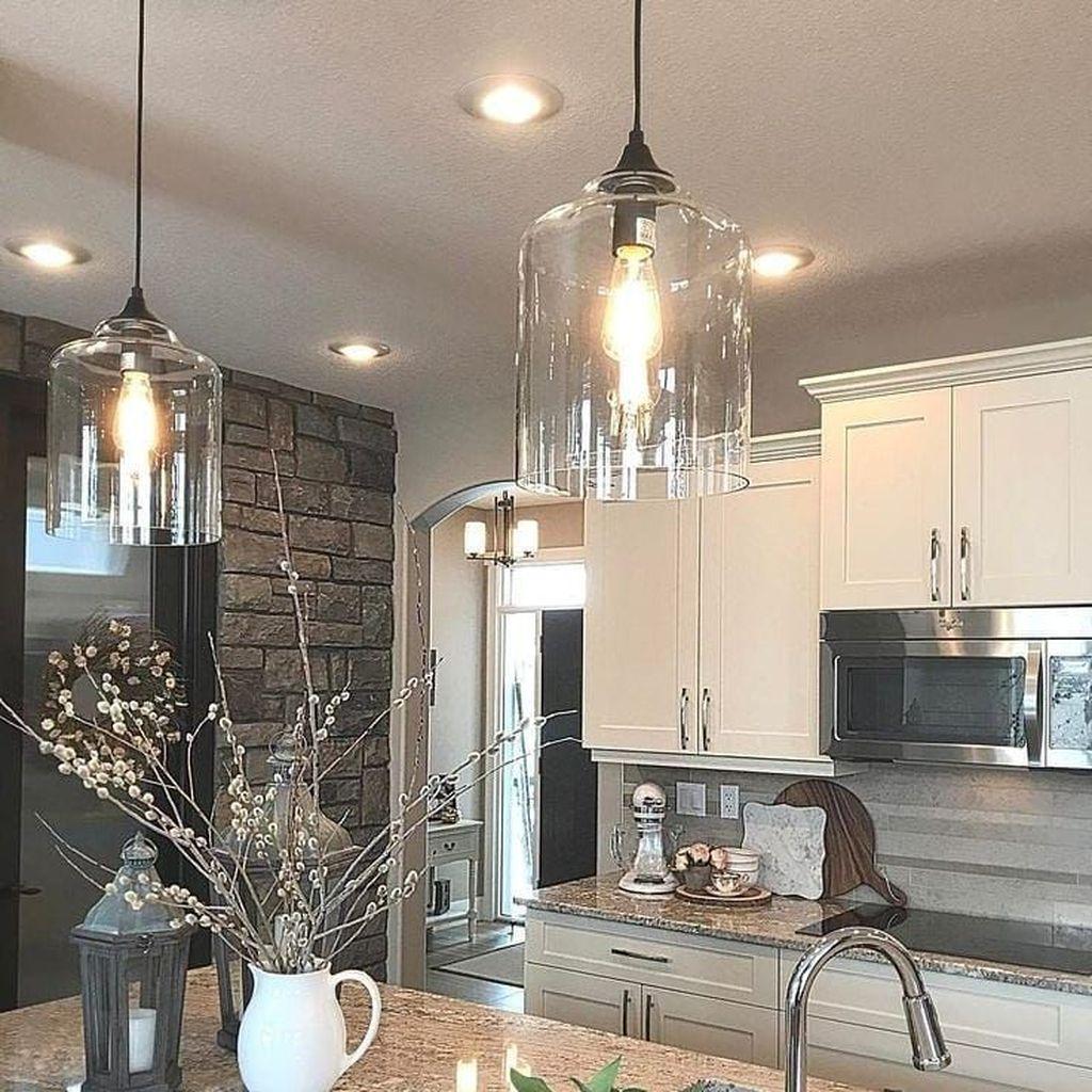 Wonderful Kitchen Lighting Ideas To Make It Look More Beautiful 05