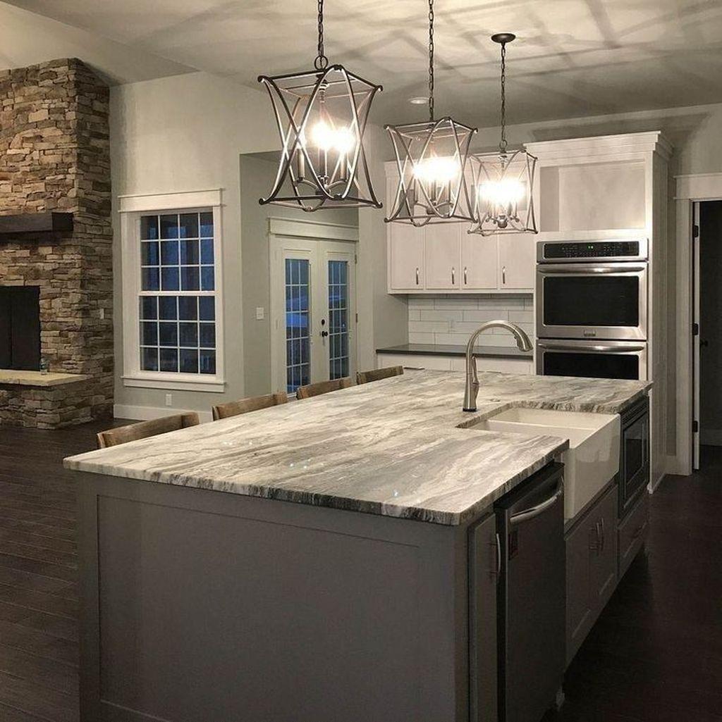 Wonderful Kitchen Lighting Ideas To Make It Look More Beautiful 06
