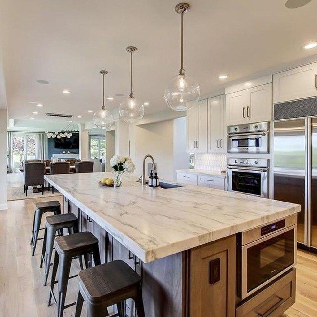 Wonderful Kitchen Lighting Ideas To Make It Look More Beautiful 10