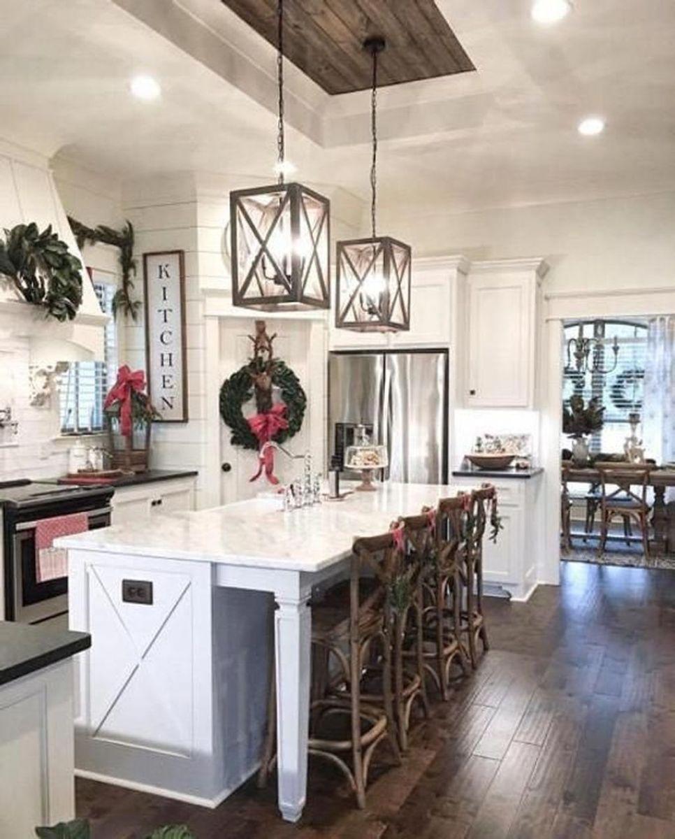 Wonderful Kitchen Lighting Ideas To Make It Look More Beautiful 14