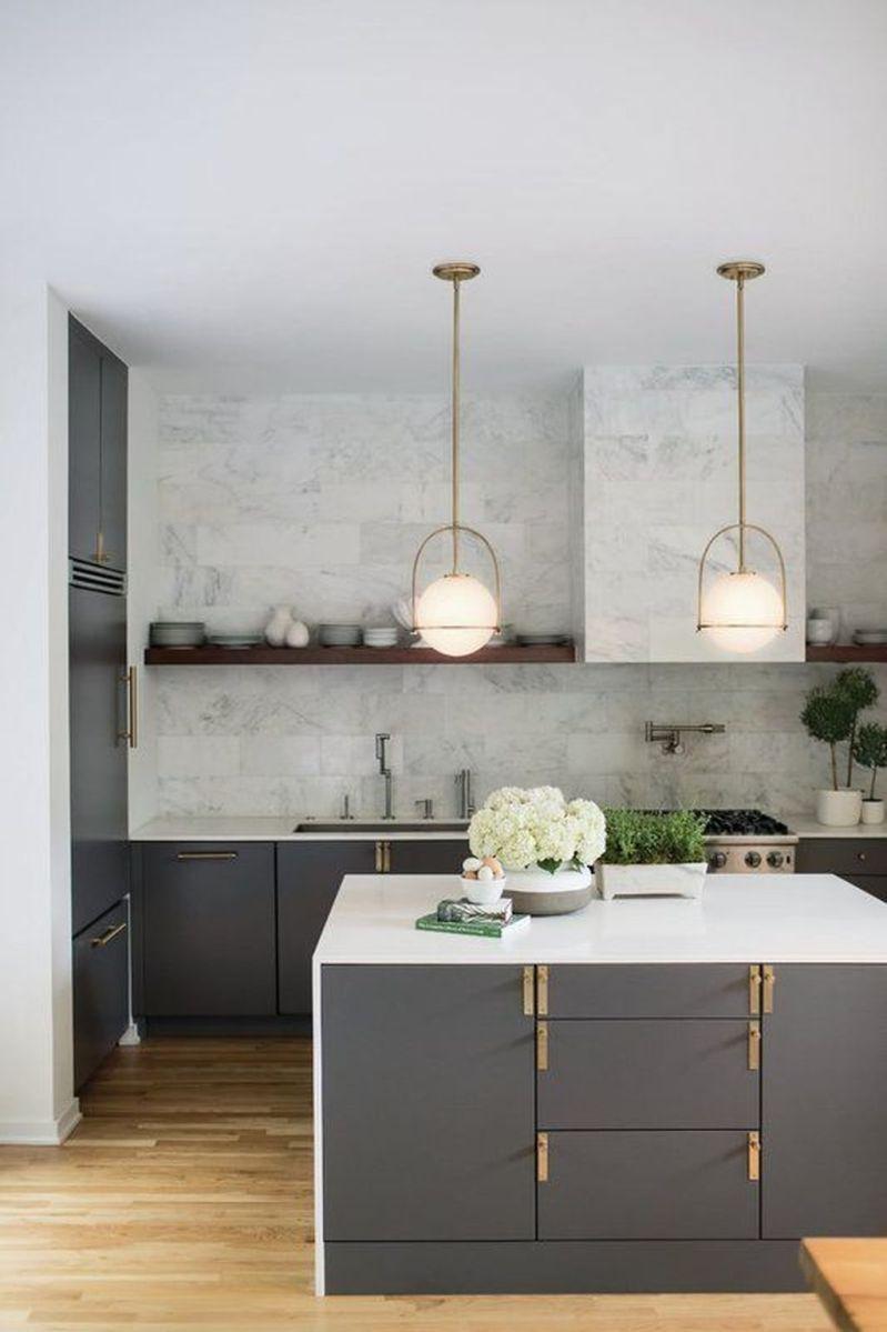 Wonderful Kitchen Lighting Ideas To Make It Look More Beautiful 16